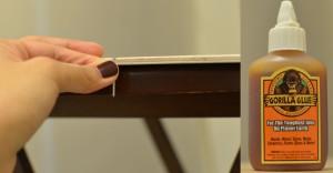 Nail and gorilla glue